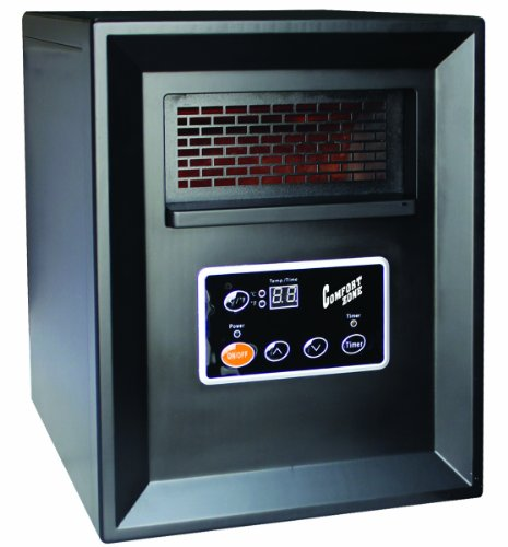 Comfort Zone Infrared Quartz Heater – 3413 BTU, 1000 Watts, Model# CZ2011P