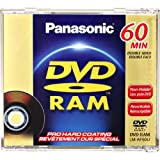 Panasonic DVD RAM - Double Sided - 2.8 GB - 60 Minutes