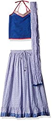Karigari Girls SKD(Shirt Kurta and Dupatta) Set (268278231_Blue_2 - 3 years)