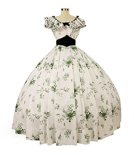 Gone With the Wind Licensed Barbecue Gown Scarlett O'Hara Medium