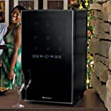 18-Bottle Dual-Temperature Wine Refrigerator w/ Touchscreen