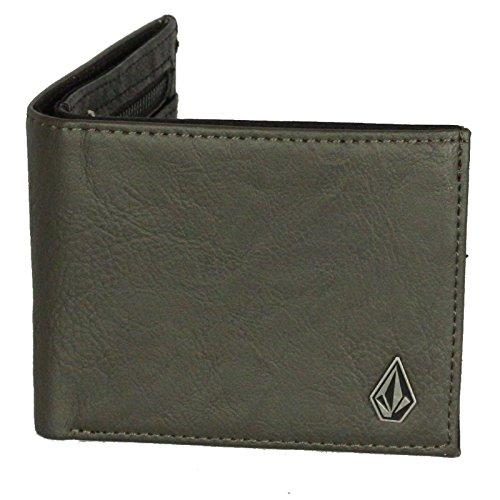 Portafoglio Volcom con CC, nota e Coin ~ Slimstone militare