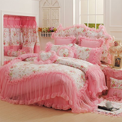 Queen Size Princess Bedding 4087 back