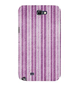 Purple Line Pattern 3D Hard Polycarbonate Designer Back Case Cover for Samsung Galaxy Note i9220 :: Samsung Galaxy Note 1 N7000