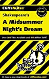 Image of CliffsNotes on Shakespeare's A Midsummer Night's Dream (Cliffsnotes Literature Guides)