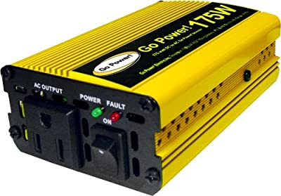 Go Power! GP-175 175 watt modified sine wave power inverter