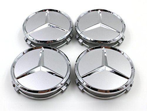 75-mm-mercedes-alloy-wheel-centre-caps-silver-chrome-set-of-4