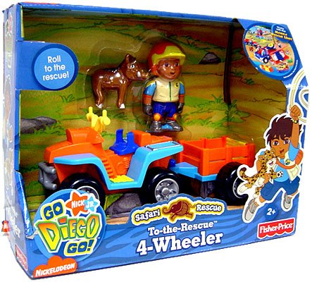 Buy Go Diego Go! Animal Adventure Safari Rescue Vehicle 4-Wheeler