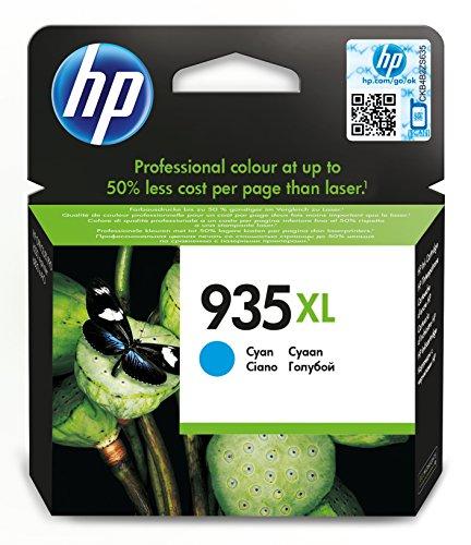 HP 935XL Cartuccia Originale Inchiostro ad Alta Capacità, Ciano