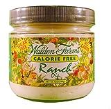Walden Farms Ranch Dip, Sugar Free, Calorie Free, Carb Free, Fat Free, 12 oz.