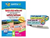 Quick Stick Write-on! Child ID Tattoos (Boy/Girl 6pk.)