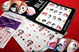 Princess & Cards Nail Art Water Slide Tattoo Sticker:::2 Pack