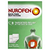 Nurofen Back Pain Heat Patches 2 Single-Use Patches