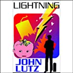 Lightning: A Fred Carver Mystery (       UNABRIDGED) by John Lutz Narrated by Edward Lewis