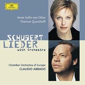 Schubert : Lieder avec orchestre (orch. Britten, Brahms, Reger, Berlioz, Webern ...)