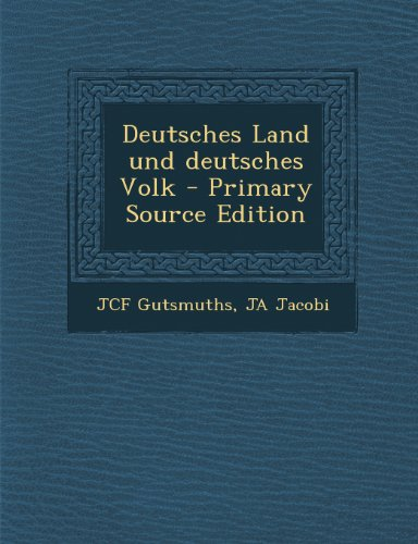 Deutsches Land Und Deutsches Volk