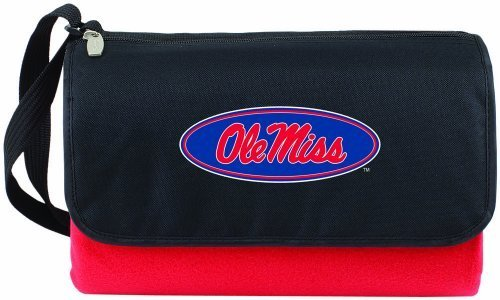 ncaa-ole-miss-rebels-outdoor-picnic-blanket-tote-red-by-picnic-time