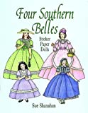 img - for Four Southern Belles Sticker Paper Dolls book / textbook / text book