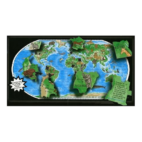 A Broader View The Global Animal 600 Piece Jigsaw Puzzle - 1
