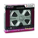 Verbatim 1.4 GB 2x DigitalMovie Mini DVD-RW Bundle (3 Discs)