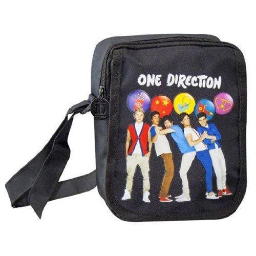 One Direction, Borsa bambini nero nero Hipster Bag - Circles