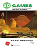3D games:animation and advanced real-time rendering