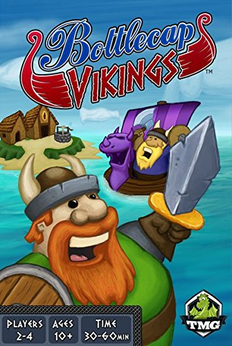 Bottlecap Vikings Board Game