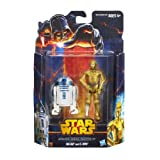 R2-D2 and C-3PO Star Wars Mission Series MS05 Figure 2 Pack