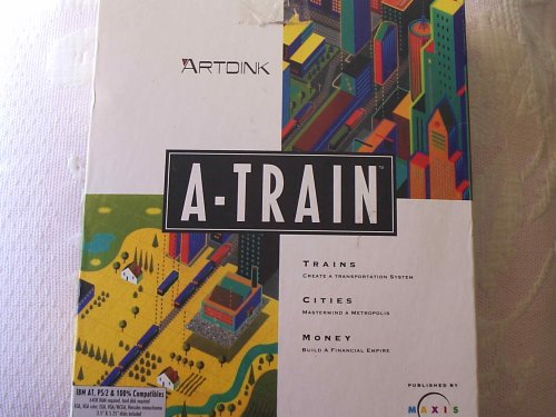 A-Train Railroad Development Simulation Game & Construction Expansion Set