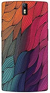 Timpax protective Armor Hard Bumper Back Case Cover. Multicolor printed on 3 Dimensional case with latest & finest graphic design art. Compatible with One Plus One ( 1+1 ) Design No : TDZ-21742