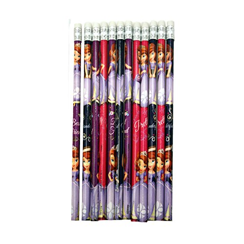Sofia The First Pencils : package of 12