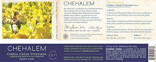 2011 Chehalem Corral Creek Pinot Noir 750 Ml