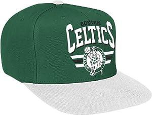 Boston Celtics Stadium Throwback Snapback Hat by Mitchell & Ness