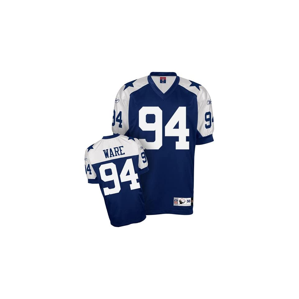 huge selection of dc073 700bb Dallas Cowboys DeMarcus Ware Authentic Throwback Jersey on ...