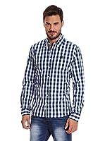 Paul Stragas Camisa Hombre Mark (Azul Marino)
