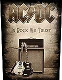In Rock We Trust Backpatch