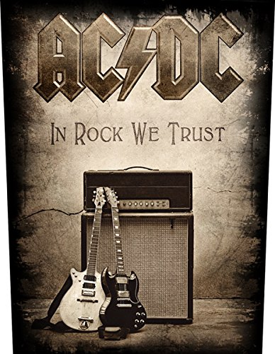AC/DC In Rock We Trust Toppe schiena standard