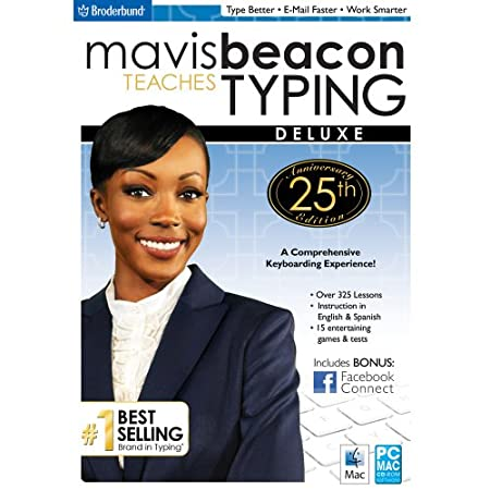 Mavis Beacon Typing - 25th Anniversary Edition Deluxe MAC [Download]