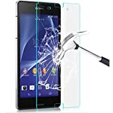 MVE(TM) Tempered Glass 2.5D Crystal Clear 9H Curve Edge Screen Scratch Protector Guard For SONY EXPERIA Z ULTRA