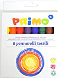 Morocolor Primo textile marker pens pack of 8 assorted colours ideal for fabrics