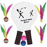 Vistop Racquet Game Shuttlecock, Beach Ball, Pickle Ball, Table Tennis Set