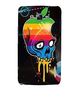printtech Apple Skull Back Case Cover for Samsung Galaxy Quattro i8552 / Samsung Galaxy Quattro Win i8552