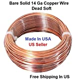 14 AWG Solid Copper wire Dead Soft 150 Ft. Coil (APRIL SPECIAL )