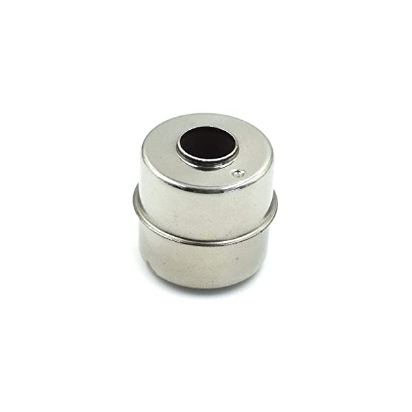 BokWin 24x24x9.5mm Stainless Steel Float Switch Floating Ball 1Pc