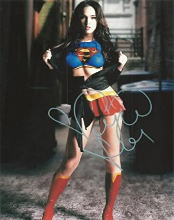 "Reprint Megan Fox ""Supergirl"" Signed 5X7 Photo at Amazon's"