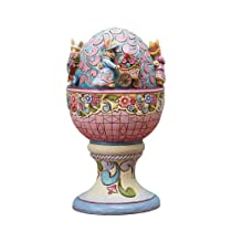 Easter Masterpiece Revolving Musical Easter Egg Figurine Plays