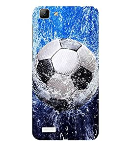ifasho Foot ball Back Case Cover for VIVO Y53