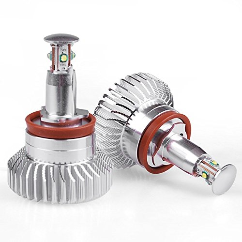 Brand New 32W H8 White Angel Eyes Halo Ring Marker Led Light Bulbs For Bmw M3 E60 E70
