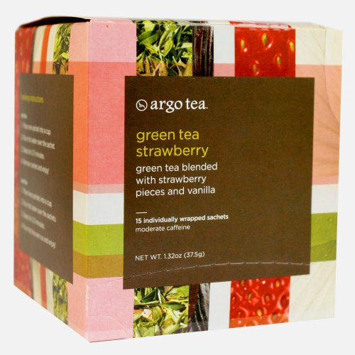 Green Tea Strawberry Tea Sachet