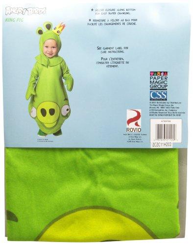Paper Magic Green King Pig Infant Costume - 1